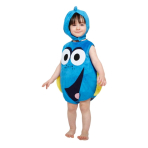 Children's Costume Dory Plush Tabard with Feature Hat 12-18 Months