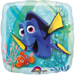 "9'' ""Finding Dory"" Foil Balloon Square A20 bulk"