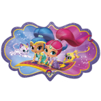 "SuperShape ""Shimmer & Shine"" Foil Balloon, P38, packed, 68 x 40 cm"
