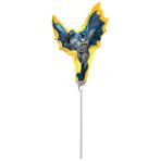 Mini Shape Batman Action Foil Balloon A30 Air Filled