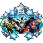 SuperShape Justice League Marquee Foil Balloon P38 Bulk