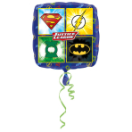 Standard Justice League Foil Balloon Square S60 Packaged 43 cm