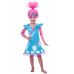 Children's costume Poppy 5-6 Years - TROLLS