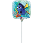 "9'' ""Finding Dory"" Foil Balloon Square A 20 airfilled"