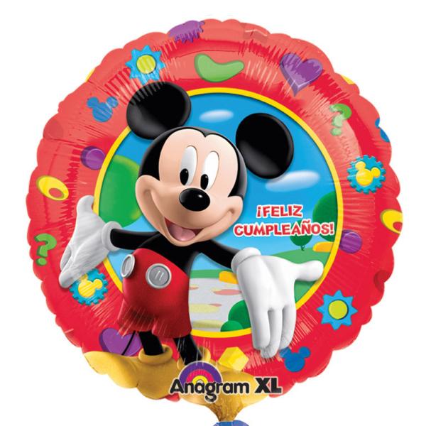 standard mickey feliz cumpleaos foil balloon s packaged cm