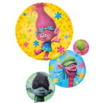 "SuperShape ""Trolls"" Foil Balloons, P38, packed, 55 x 71 cm"