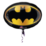 SuperShape Batman Emblem Foil Balloon P38 Packaged 68 x 48 cm