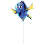 "Mini Shape ""Finding Dory Shape"" Foil Balloon A30, airfilled"