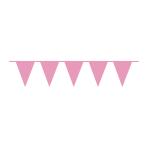Pennant Banner Bright Pink Plastic 1000 x 32 cm