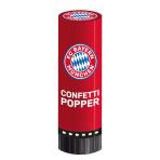 2 Confetti Popper FC Bayern Munich 4,4 x 15,2 cm