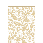 Table Cover Gold Anniversary 137 x 159 cm