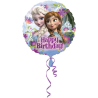 Standard Frozen Happy BirthdayFoil Balloon S60 Packaged 43  cm