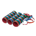 3 Streamers Metallic Stripes Paper 0.7 x 400 cm