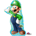 "SuperShape ""Luigi"" Foil Balloon, P38, packed, 50 x 96cm"