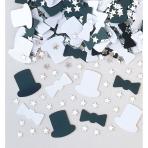 Confetti Top Hat Metallic Foil / Paper 14 g