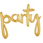 Script Phrase `Party` Gold
