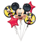 Bouquet Mickey Mouse Forever Foil Balloon P75 packaged