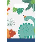 8 Paper Bags Dino-Mite