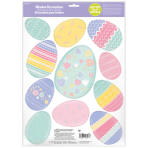 Window Decorations Easter Eggs Glitter Vinyl
