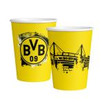 6 Cups BVB Dortmund Paper 500 ml