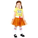 Child Costume Spongebob Girls Age 10-12 Years