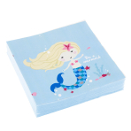 20 Napkins Be a Mermaid 33 x 33 cm
