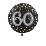 Multi Balloon Sparkling Birthday 60 Foil Balloon P75 Packaged 81 x 81 cm