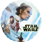 Standard Star Wars Episode IX Rise of Skywalker Foil Balloon circle S60 packaged
