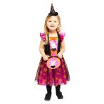 Child Costume Peppa Orange Dress Age 2-3 Years