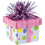 Balloon Weight Gift Package Pink 170 g/6 oz