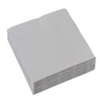 20 Napkins Silver 25 x 25 cm
