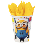 8 Cups Despicable Me Paper 250 ml