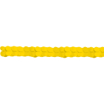 Paper Garland Yellow 365 cm
