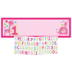 Giant Sign Banner One Wild Girl Personalize It 165 x 50.8 cm