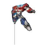 Mini Shape Transformers Foil Balloon A30 Bulk