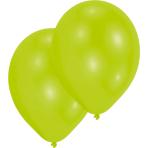 "10 Latex Balloons Standard Lime Green 27.5 cm / 11"""