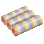3 Streamers Stripes Pastel Paper 0.7 x 400 cm