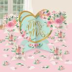 Table Decorating Kit Mint To Be Paper 27 Pieces 32.5 cm / 17.7 cm / 10.9 cm / 5 cm