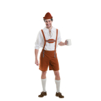 Mens' Costume Oktoberfest Guy Size L/XL