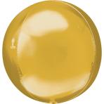 Orbz Gold Foil Balloon G20 Bulk 38 x 40 cm