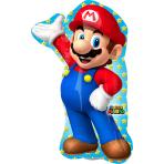 Mini Shape Super Mario Foil Balloon A30 Bulk 20 x 30 cm