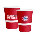 6 Cups FC Bayern Munich Paper 500 ml