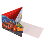 8 Invitations & Envelopes Blaze Paper 8 x 14.2 cm