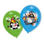 "6 Balloons 4C print Pirate 27.5 cm/11"""