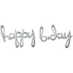 Script Phrase `Happy Bday` Slv