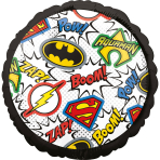 Standard Justice League Foil Balloon S60 Packaged