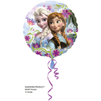 Standard Frozen Foil Balloon S60 Packaged 43 cm