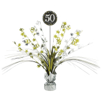 Spray Centrepiece 50 SparklingCelebration - Silver & Gold