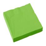20 Napkins Kiwi Green 33 x 33 cm
