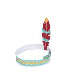 4 Hairbands Kits Tepee & Tomahawk
